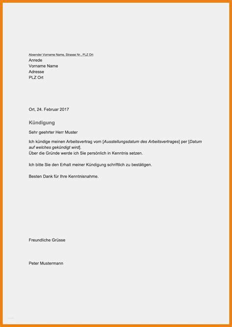 Lebenslauf Für Ausbildung Vorlage by K 252 Ndigung Ausbildung Vorlage Angenehm 9 Arbeit 252 Ndigung