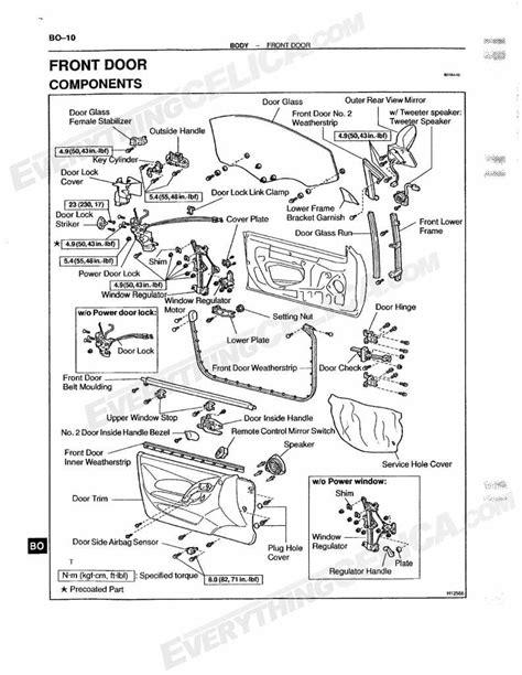 Dodge Grand Caravan Sliding Door Diagram