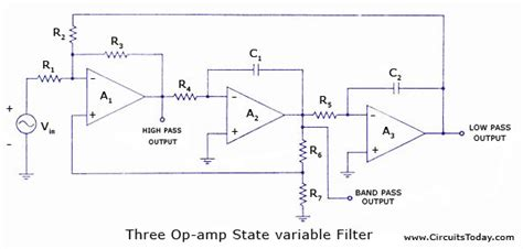 State Variable Filters The Circuit