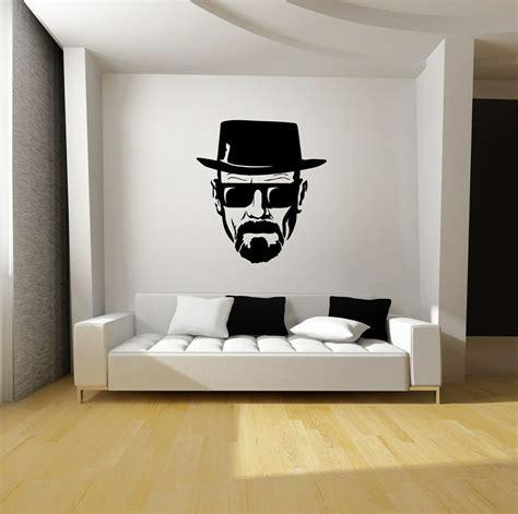 breaking bad heisenberg wall art black vinyl decal mural