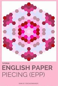 246 best english paper piecing images on pinterest With hexagon templates for english paper piecing
