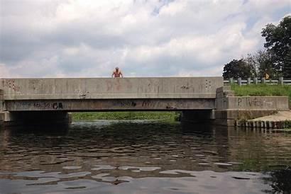 Animated Bridge Lake Jumping Near Fun Christiana
