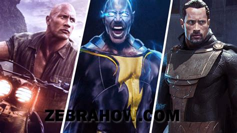List Of Dwayne Johnson Upcoming Movies 2019-2020