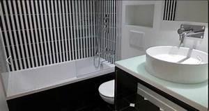 Décoration D Une Petite Salle De Bain : quelle couleur d co pour agrandir une petite salle de bain ~ Zukunftsfamilie.com Idées de Décoration