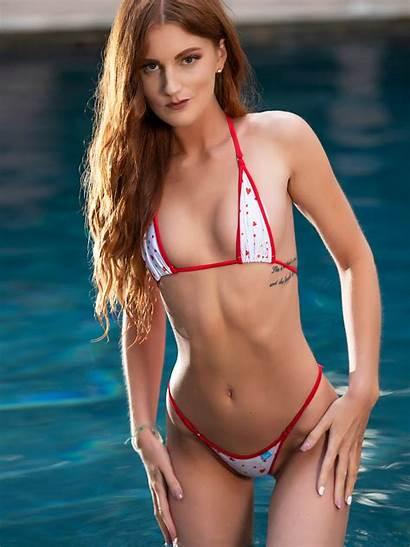 Bikini Micro Polka Dot Hearts Bikinis Brswimwear
