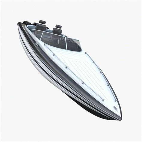 Speed Boat Model by Marine Speed Boat 3d Model Cgtrader