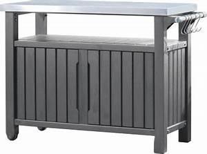 Keter Grill Beistelltisch : keter 6131 grill beistelltisch 2 t rig grillen f r anf nger und profis ~ Yasmunasinghe.com Haus und Dekorationen