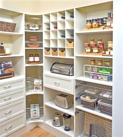 Kitchen Shelving Ideas - organized living pantry shelving jones house