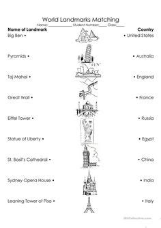 geography worksheets images geography  kids