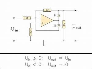 Operationsverstärker Berechnen : berechnung eines halbwellengleichrichters opamp mit dioden ~ Themetempest.com Abrechnung