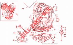 Crank Case For Moto Guzzi 750 Breva Ie 2006   Moto Guzzi