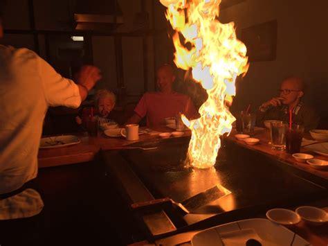 flash fire   teppanyaki grill sakura  japan
