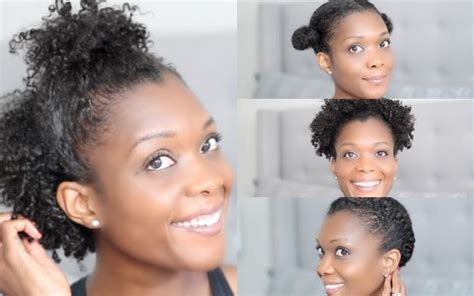 Easy Natural Hairstyles, Simple Black Hairstyles For
