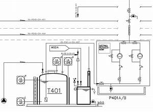 Draw A P U0026 Id Piping And Instrumentation Diagram    Drawing