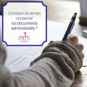 Document A Conserver : papiers conserver combien de temps garder ses documents ~ Gottalentnigeria.com Avis de Voitures