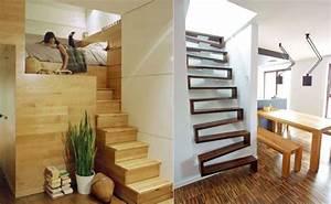 Escalier gain place petit espace accueil design et mobilier for Wonderful meubles pour petit espace 1 11 escaliers gain de place parfaits pour de petits espaces