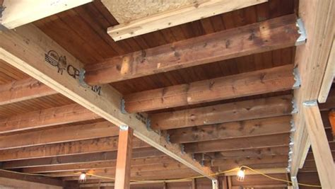 Hydraulic Floor Joist by Journal Of Light Construction Island House Makeover