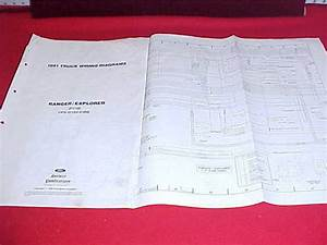 1991 Ranger  U0026 Explorer Electrical Wiring Diagram