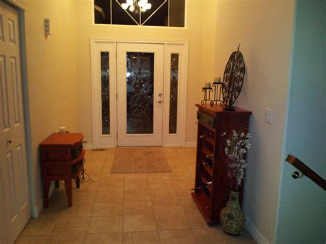 Foyer Decorating Question (floor, Paint, Tiles, Light