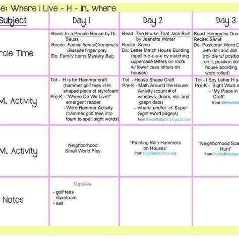 where i live lesson plan all about me unit for 281 | 3b2dd439748251fc43c4bfa62fe645e0