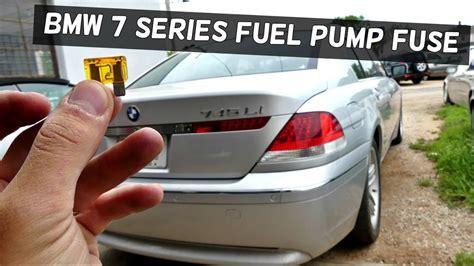bmw   fuel pump fuse  start  li  li