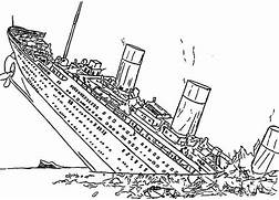 Titanic Coloring Page 18234