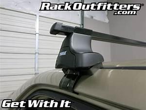 Honda Accord 4 Door Sedan Thule Traverse Square Bar Roof Rack  U0026 39 03- U0026 39 07
