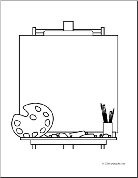 easel cliparts