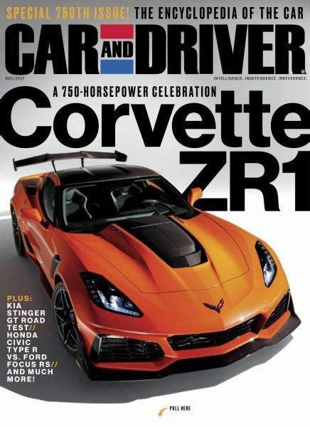 car and driver 2019 chevrolet corvette zr1 leaked ahead of its debut in