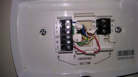 honeywell rth9580 thermostat heating on cooling cycle