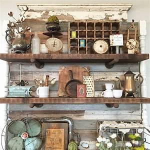 Diy, Shelves, U0026, Shabby, Chic, Vintage, Decor