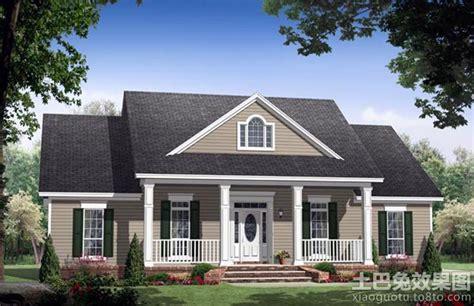 Beautiful American House Designs Styles by 现代南方农村房屋设计图 土巴兔装修效果图