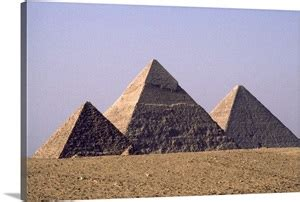 giza pyramids  left  pharaohs menkaure khafre