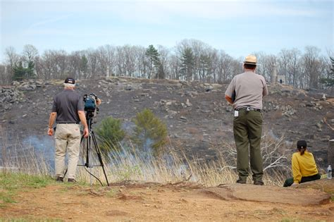 top controlled burn gettysburg daily