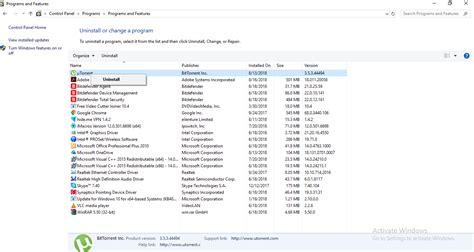 How to uninstall a program in windows 10 - WindowsClassroom