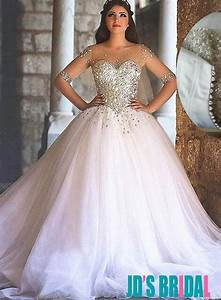 sparkly sweetheart tulle princess wedding dresses 2494235 With wedding dresses sparkly