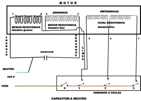 diagrama de conexion ventilador teclas diagramas electricos y electr 243 nicos en 2019