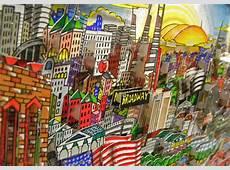 Charles Fazzino's 3D Pop Art Comes to Charlotte