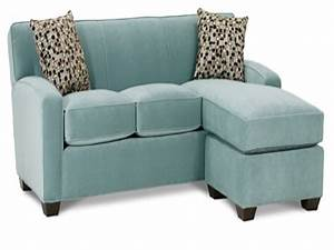 Dania tables small sectional sleeper sofa with chaise for Sectional sofa with short chaise
