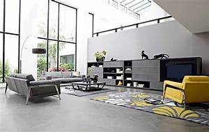 amazing of great incredible amazing black black and grey 4098 With meubles de salon roche bobois 2 20 modern contemporary black and white living rooms home