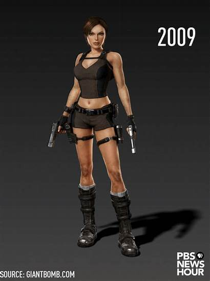 Sexualization Female Games Lara Croft Outfit History