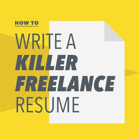 How To Write A Killer Resume by The World S Catalog Of Ideas