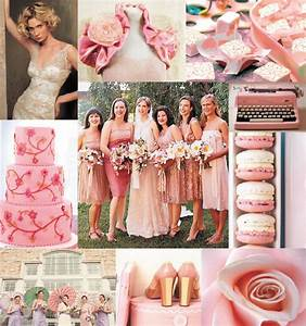 Wedding Colors Pink & Champagne