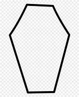 Coffin Coloring Clipart Pinclipart Clip sketch template