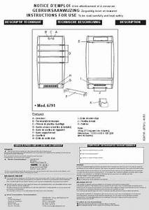 Calor Thermalis Turbo Excel 6791 Heater Download User