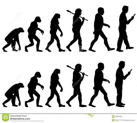 Next Human Evolution Stock Photo Image Of Heritable