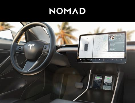 Nomad Launches Tesla Model 3 Wireless Charger With