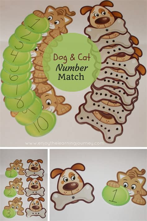 and cat number match for preschoolers dogs and 149 | 76fc531c6266771b111d1214c1fb4b78