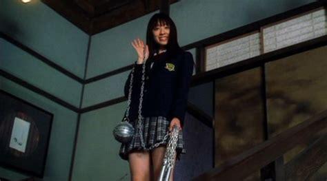 naked chiaki kuriyama in kill bill volume 1