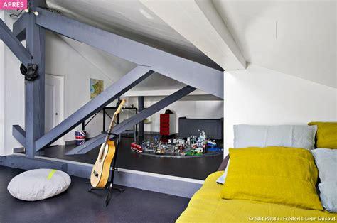 coin lecture chambre aménagez des combles en dortoir d 39 enfants maison créative